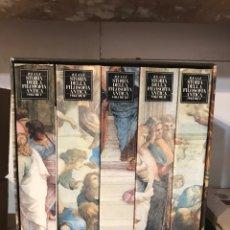 Libros: HISTORIA DE LA FILOSOFÍA ANTIGUA ITALIANO STORI DELLA ANTICA FILOSOFIA. Lote 184476491