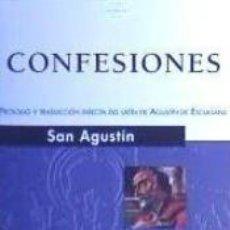 Libros: CONFESIONES -SAN AGUSTIN. Lote 184595510