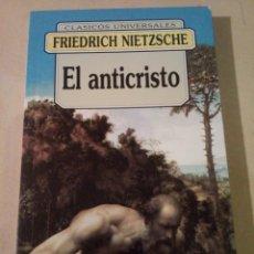 Libros: EL ANTICRISTO. Lote 185751507