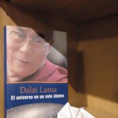 Libros: EL UNIVERSO EN UN SOLO ÁTOMO - DALAI LAMA - CÍRCULO DE LECTORES. Lote 185706702