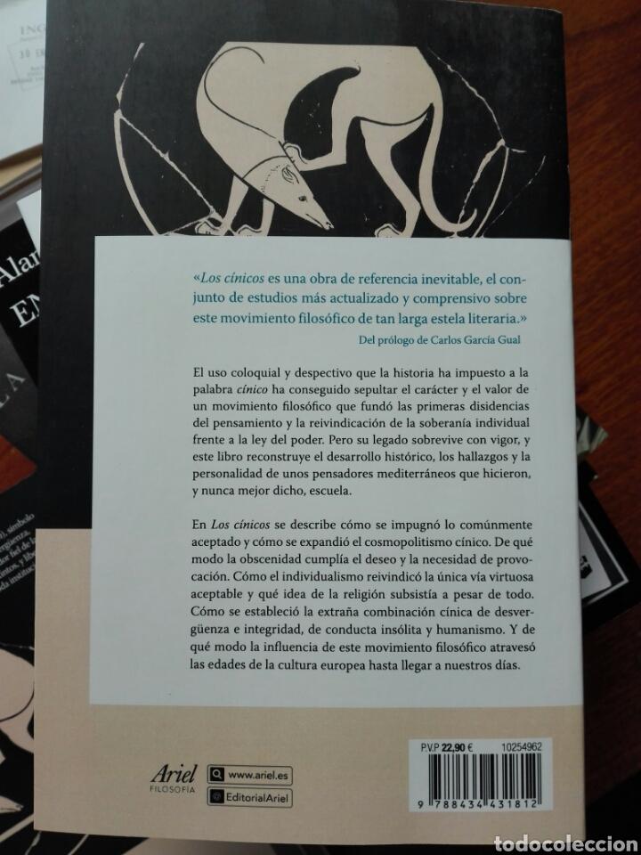Libros: Los cínicos. Branham y goulet-caze EDS. Prólogo de García Gual. Filosofía. Ariel. 2020 - Foto 2 - 255470690