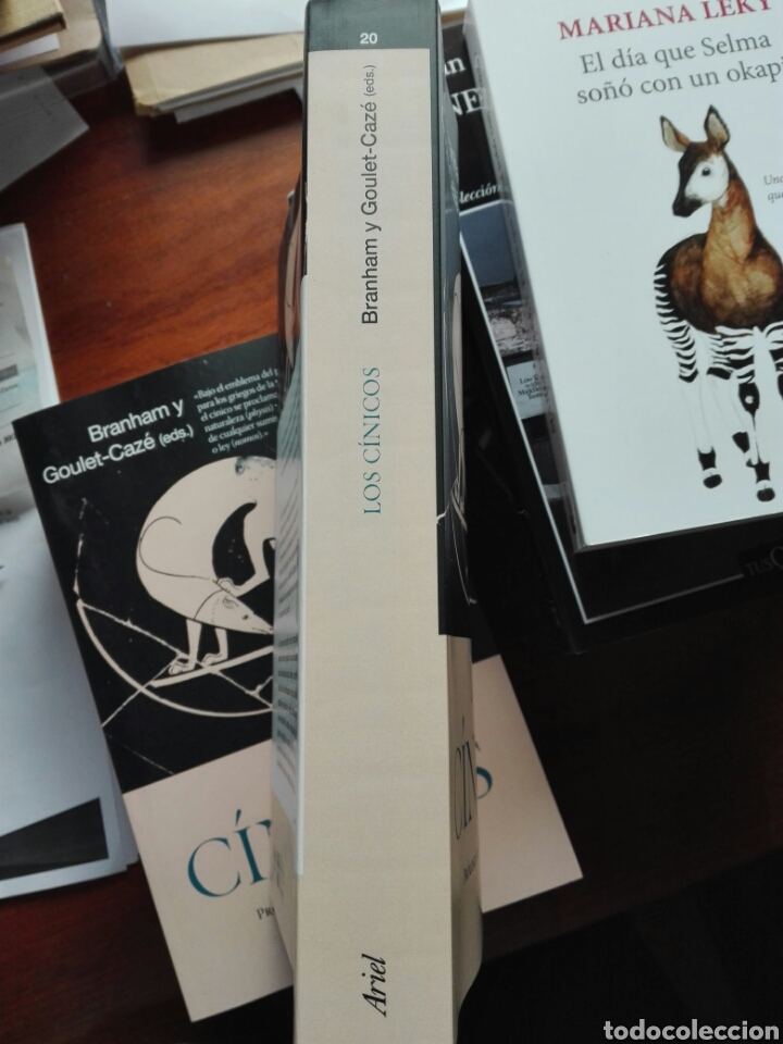 Libros: Los cínicos. Branham y goulet-caze EDS. Prólogo de García Gual. Filosofía. Ariel. 2020 - Foto 4 - 255470690