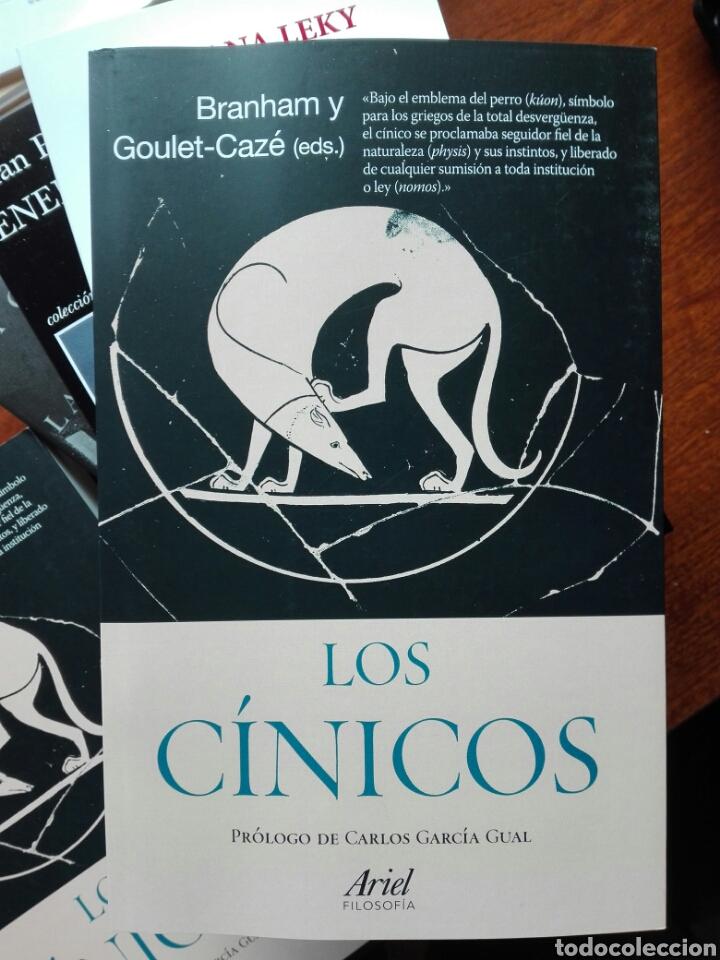 LOS CÍNICOS. BRANHAM Y GOULET-CAZE EDS. PRÓLOGO DE GARCÍA GUAL. FILOSOFÍA. ARIEL. 2020 (Libros Nuevos - Humanidades - Filosofía)