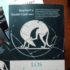 Libros: LOS CÍNICOS. BRANHAM Y GOULET-CAZE EDS. PRÓLOGO DE GARCÍA GUAL. FILOSOFÍA. ARIEL. 2020. Lote 255470690