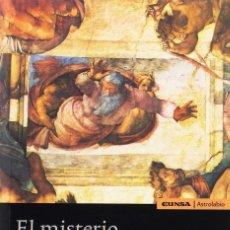 Libros: EL MISTERIO DE LOS ORÍGENES (JOAQUÍN FERRER) EUNSA 2012. Lote 194280912