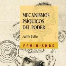 Libros: MECANISMOS PSIQUICOS DEL PODER JUDITH BUTLER. Lote 194519963