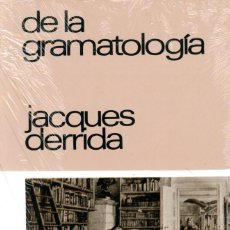 Libros: DE LA GRAMATOLOGÍA JACQUES DERRIDA. Lote 194994823