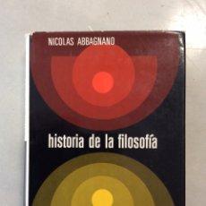 Libros: HISTORIA DE LA FILOSOFÍA. (TOMO I). Lote 199081250