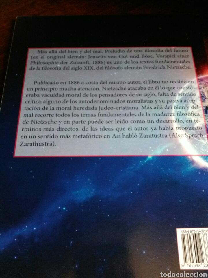 Libros: NIETZSCHE. MÁS ALLÁ DEL BIEN Y DEL MAL. - Foto 3 - 202319296