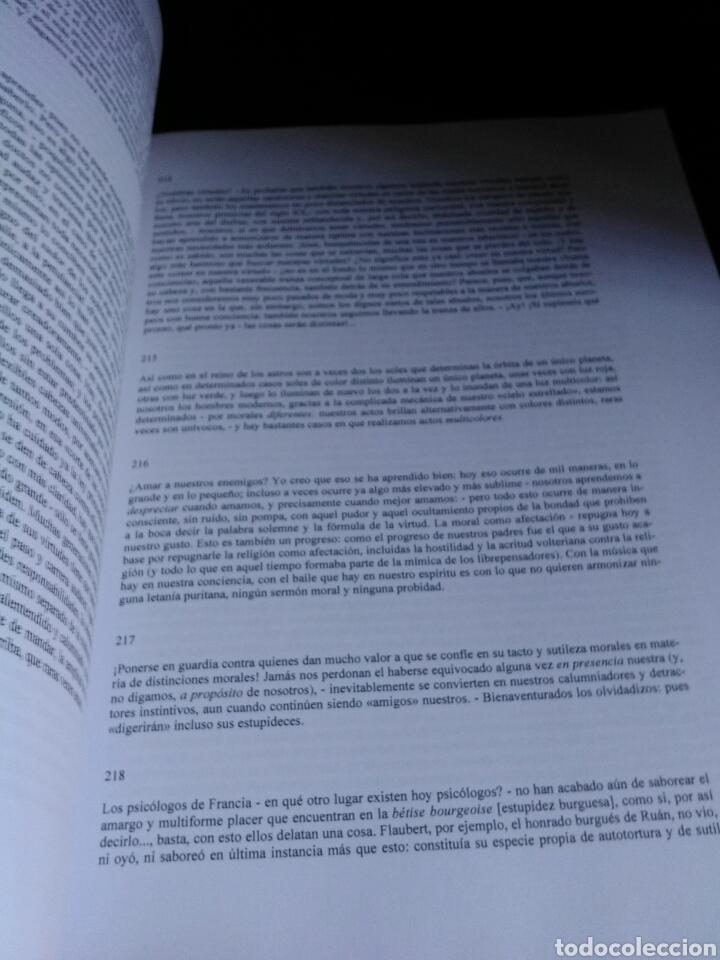 Libros: NIETZSCHE. MÁS ALLÁ DEL BIEN Y DEL MAL. - Foto 5 - 202319296
