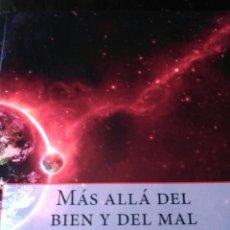 Libros: NIETZSCHE. MÁS ALLÁ DEL BIEN Y DEL MAL.. Lote 202319296