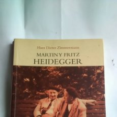 Libros: HEIDEGGER. MARTIN Y FRITZ HEIDEGGER.. Lote 203247426