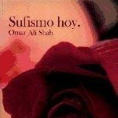 Libros: SUFISMO HOY. Lote 204988637