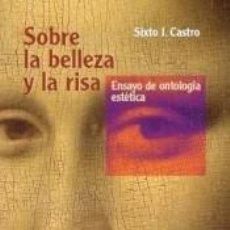 Libros: SOBRE LA BELLEZA Y LA RISA. Lote 204988867