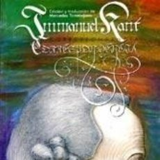 Libros: CORRESPONDENCIA - IMMANUEL KANT. Lote 205264320