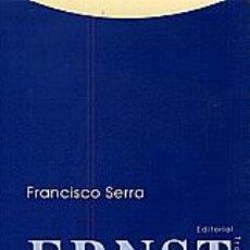 Libros: FRANCISCO SERRA - HISTORIA, POLÍTICA Y DERECHO EN ERNST BLOCH. Lote 206428352