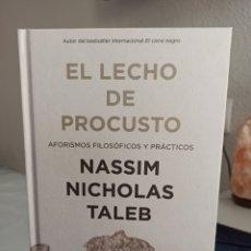 Libros: EL LECHO DE PROCUSTO, DE NASSIM NICHOLAS TALEB.. Lote 206554191