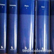 Libros: GRANDES PENSADORES COLECCIÓN GREDOS. Lote 206870671