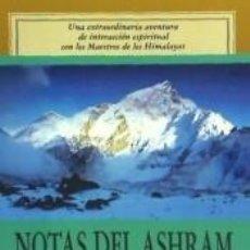 Libros: NOTAS DEL ASHRAM. Lote 206989516