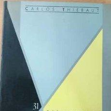 Libros: CARLOS THIEBAUT - LOS LÍMITES DE LA COMUNIDAD. Lote 207604501