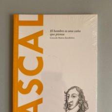 Libros: PASCAL. EL HOMBRE ES UNA CAÑA QUE PIENSA - GONZALO MUÑOZ BARALLOBRE. Lote 210383256