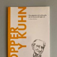 Libros: POPPER Y KUHN. DOS GIGANTES DE LA FILOSOFÍA DE LA CIENCIA DEL SIGLO XX. Lote 210383505