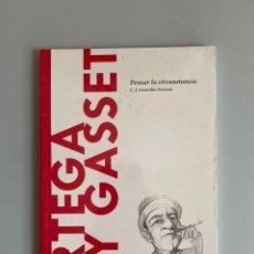 Libros: ORTEGA Y GASSET. PENSAR LA CIRCUNSTANCIA - C.J. GONZÁLEZ SERRANO. Lote 210383626
