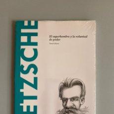 Libros: NIETZSCHE. EL SUPERHOMBRE Y LA VOLUNTAD DE PODER - TONI LLÁCER. Lote 210384470