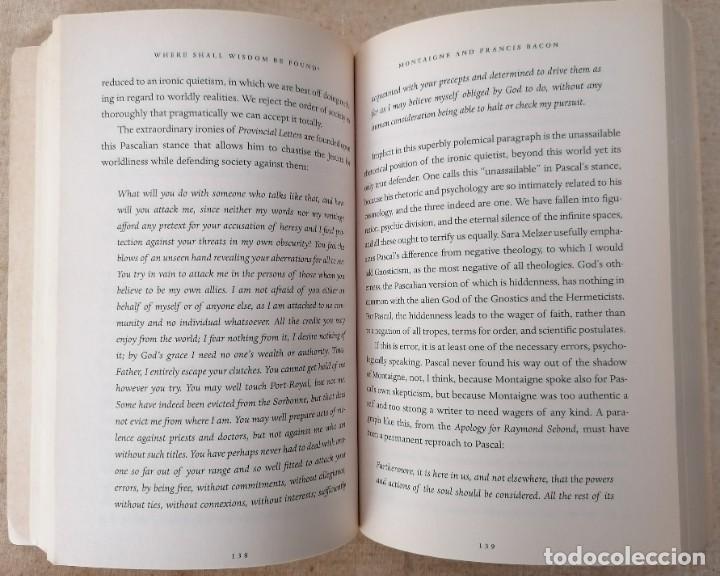 Libros: Where Shall Wisdom Be Found? - HAROLD BLOOM - PENGUIN RANDOM HOUSE - 2005 - Foto 5 - 210468181