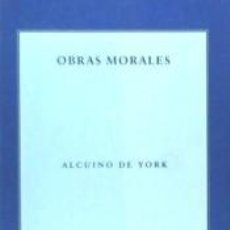 Libros: OBRAS MORALES. Lote 210717194