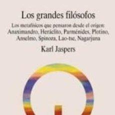 Libros: LOS GRANDES FILÓSOFOS. VOL. III. Lote 211666705
