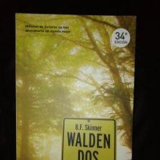 Libros: WALDEN DOS, SKINNER. Lote 214728945