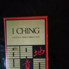 Livres: I CHING. Lote 214777968