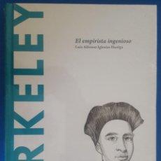 Libros: LIBRO / BERKELEY - EL EMPIRISTA INGENIOSO / LUÍS ALFONSO IGLESIAS HUELGA, BATISCAFO 2015. Lote 215146182