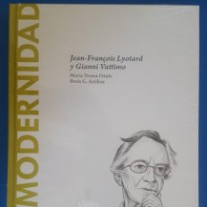 Libri: LIBRO / POSTMODERNIDAD - JEAN-FRANÇOIS LYOTARD Y GIANNI VATTIMO /MARÍA TERESA OÑATE BRAIS G. ARRIBAS. Lote 215146653
