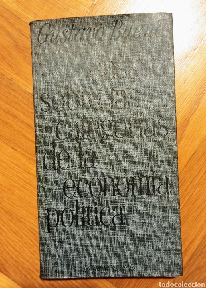 ENSAYO SOBRE LAS CATEGORÍAS DE LA ECONOMÍA POLÍTICA - GUSTAVO BUENO (Libros Nuevos - Humanidades - Filosofía)