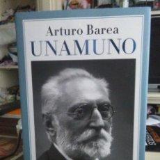 Libros: ARTURO BAREA.UNAMUNO.ESPASA CLÁSICOS. Lote 217697881