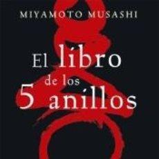 Libros: EL LIBRO DE LOS 5 ANILLOS. Lote 217771392