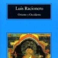 Libros: ORIENTE Y OCCIDENTE. Lote 217880013