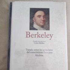 Libros: BERKELEY.GRANDES PENSADORES.GREDOS. Lote 217999605