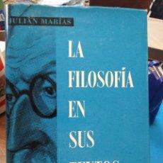 Libros: LA FILOSOFÍA EN SUS TEXTOS-JULIÁN MARIA'S-TOMÓ III,EDITA LABOR,CON SOBRECUBIERTAS.. Lote 218112398