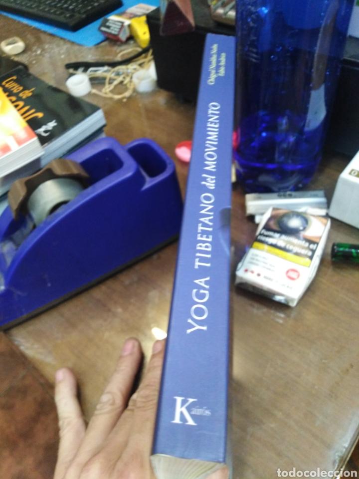 Libros: YOGA TIBETANO DEL MOVIMIENTO-EL ARTE Y LA PRÁCTICA DEL YANTRA YOGA-CHOGYAL NAMKHAI NORBU,KAIROS,2015 - Foto 2 - 218805470