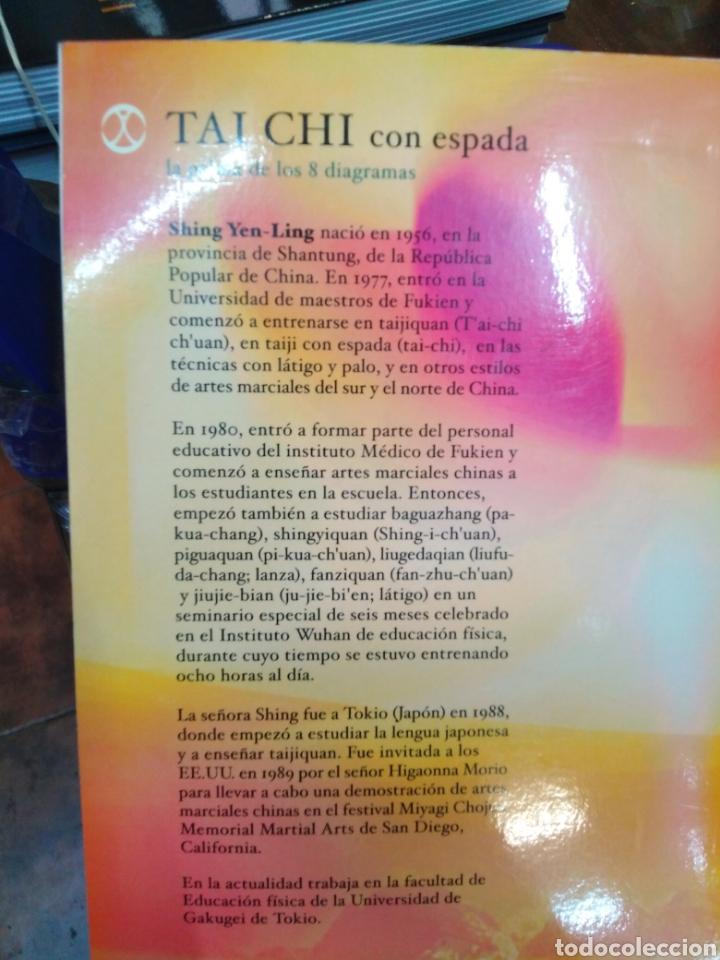 Libros: TAI CHI CON ESPADA-LA PALMA DE LOS 8 DIAGRAMAS-SHING YEN-LING,EDITA PAIDOTRIBO,2004,ILUSTRADO - Foto 3 - 218805857