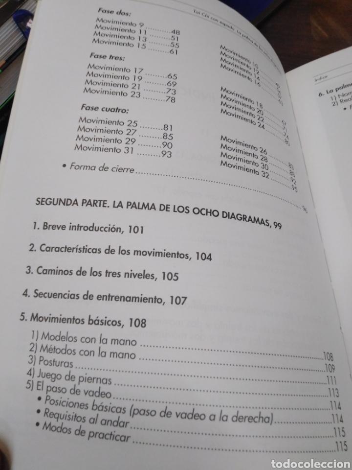 Libros: TAI CHI CON ESPADA-LA PALMA DE LOS 8 DIAGRAMAS-SHING YEN-LING,EDITA PAIDOTRIBO,2004,ILUSTRADO - Foto 7 - 218805857