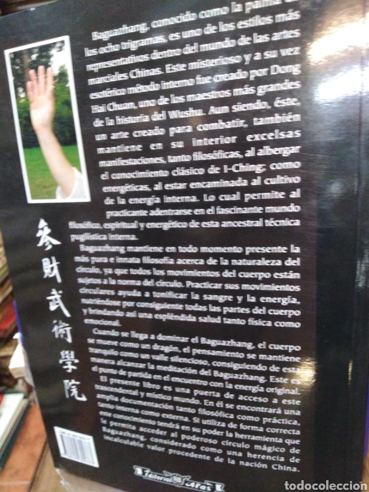 Libros: BAGUA ZHANG-EL PODER DEL CÍRCULO MAGICO-SHIFU CARLOS GARCÍA,EDITA ALAS,2005,NUEVO SIN LEER - Foto 3 - 218815011