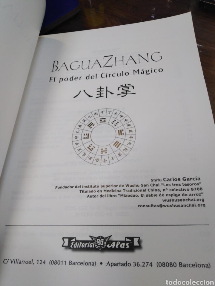 Libros: BAGUA ZHANG-EL PODER DEL CÍRCULO MAGICO-SHIFU CARLOS GARCÍA,EDITA ALAS,2005,NUEVO SIN LEER - Foto 4 - 218815011
