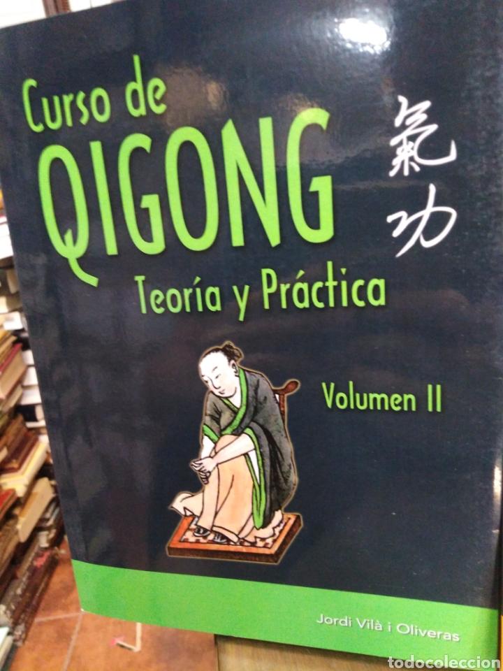 Libros: CURSO DE QIGONG-TEORIA Y PRÁCTICA-2 TOMOS COMPLETO,JORDI VILA I OLIVERAS,EDITA ALAS,ILUSTRADO - Foto 3 - 218815421