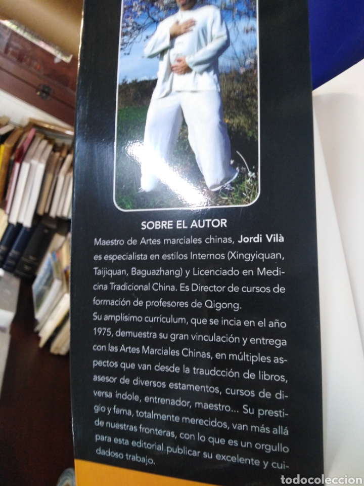 Libros: CURSO DE QIGONG-TEORIA Y PRÁCTICA-2 TOMOS COMPLETO,JORDI VILA I OLIVERAS,EDITA ALAS,ILUSTRADO - Foto 8 - 218815421