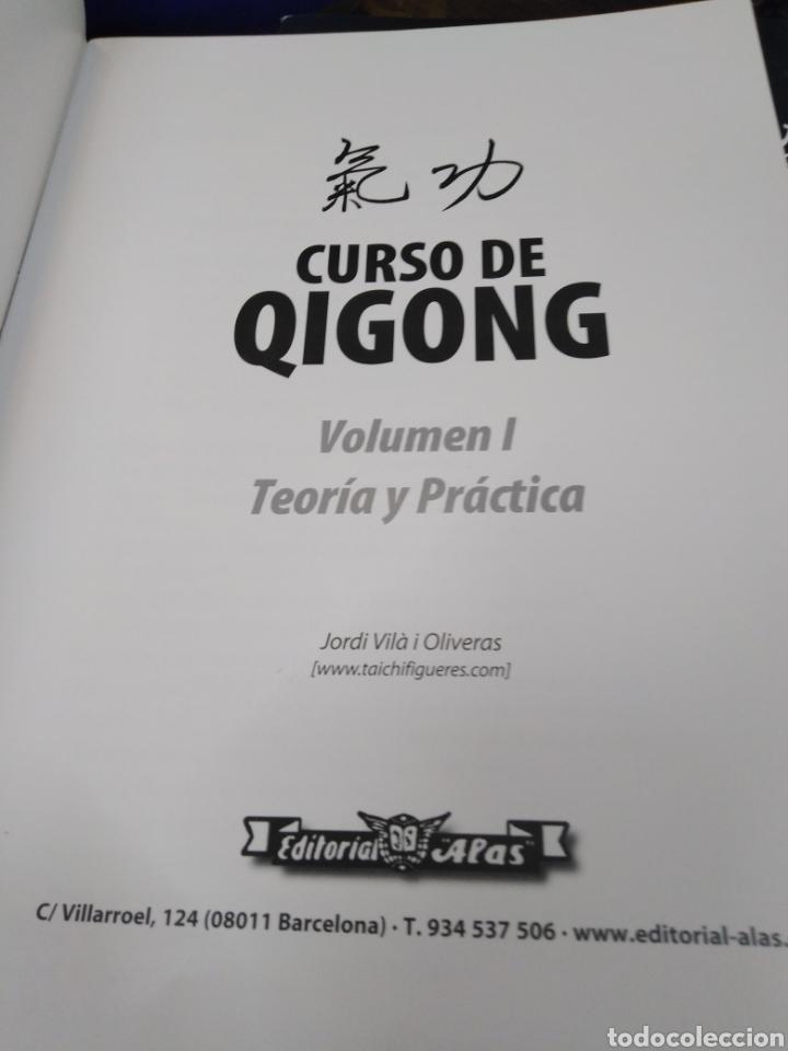 Libros: CURSO DE QIGONG-TEORIA Y PRÁCTICA-2 TOMOS COMPLETO,JORDI VILA I OLIVERAS,EDITA ALAS,ILUSTRADO - Foto 9 - 218815421