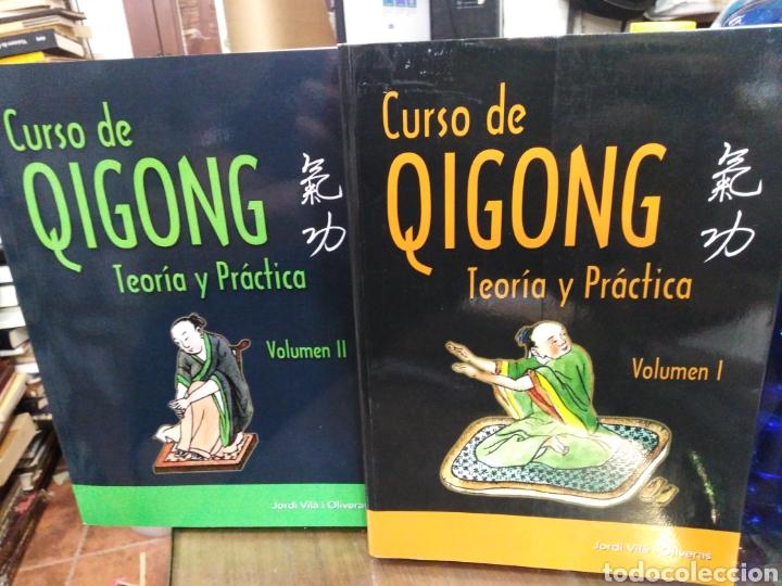 CURSO DE QIGONG-TEORIA Y PRÁCTICA-2 TOMOS COMPLETO,JORDI VILA I OLIVERAS,EDITA ALAS,ILUSTRADO (Libros Nuevos - Humanidades - Filosofía)